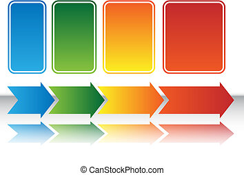 Heat Map Arrow Chart