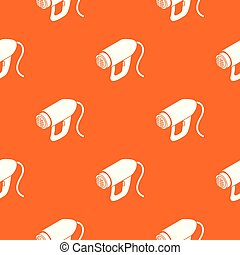 Heat power tool pattern vector orange for any web design ...