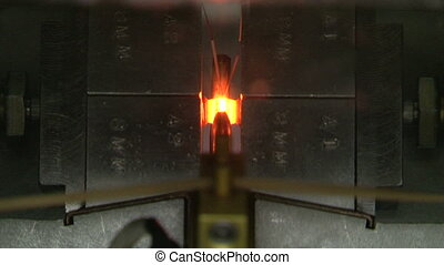 Heating of a metal rod