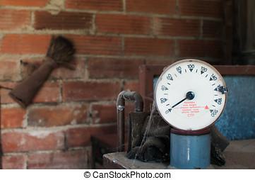 Heating oil tank gauge - heating oil tank gauge marking...