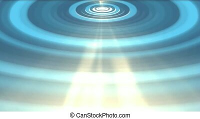 heaven light and blue ripple,water