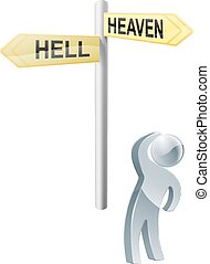 Heaven or hell choice