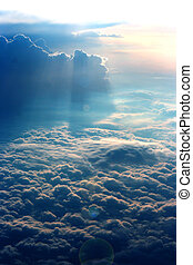 Heaven - A view from above the clouds