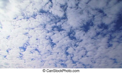 Heaven - Beautiful clouds in the heavenly sky.