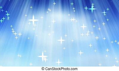 Heaven - Abstract sky animation