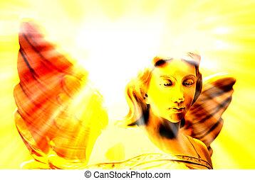 heavenly, ライト, 天使