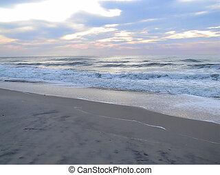 Heavenly Beach Skies