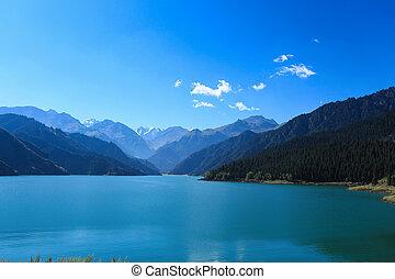 heavenly lake, sinkiang,China
