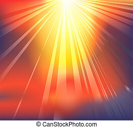 Heavenly light background - Background featuring heavenly...