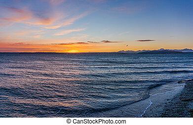 Heavenly Sunset Sky