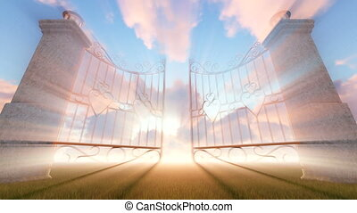 Heaven's Gate, motion graphic