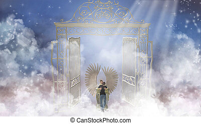 Heaven's Gate - The pearly gates are welcoming.