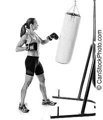 Heavy Bag Exercise
