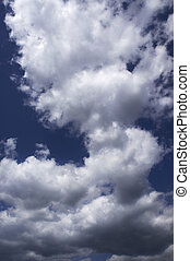 heavy clouds(focus on the center of the photo) - sky before...