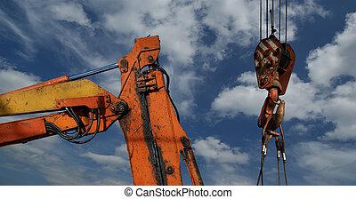 heavy duty crane hook