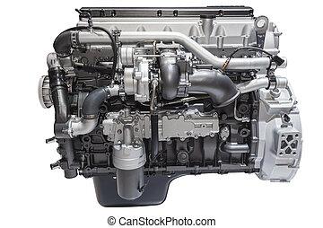 Heavy duty diesel engine - Modern six cylinder heavy duty ...