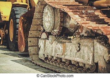 Heavy Duty Equipment - Industrial Theme. Heavy Duty ...