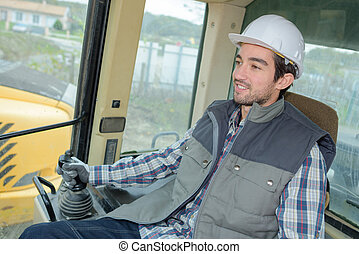 heavy equipment driver