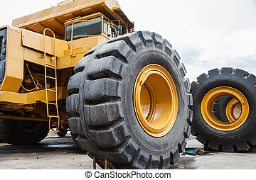 Heavy equipment for mine industry