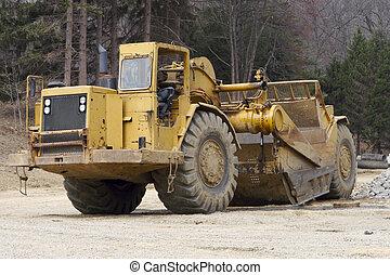 Heavy Equipment Grater Tractor