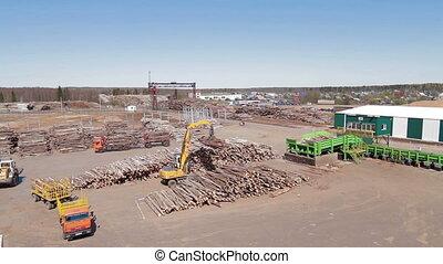 HEAVY EQUIPMENT TRUCK PICKER Lumber industry - Lumber...
