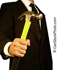 Heavy hammer aggressive business style