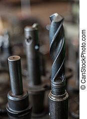 Heavy industrial drill bits