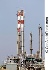 heavy industry petrochemical plant