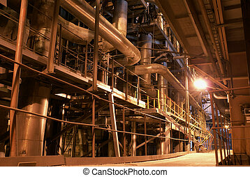 heavy industry, power plant