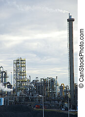 Heavy industry - View with heavy industry