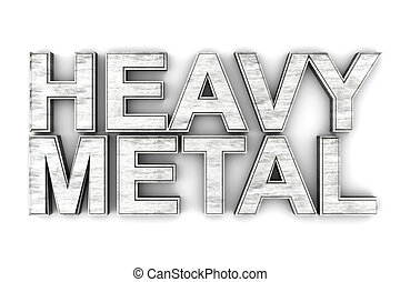 Heavy Metal music symbol. 3D rendered Illustration.