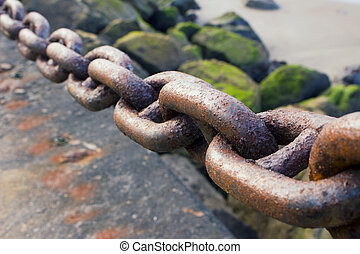 Heavy Rusted Chain