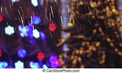 Heavy snow in spotlight