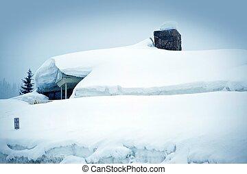 Heavy Snow Storm