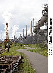 heavy steel industry