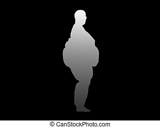 Heavy - This image represents unhealthy overweight people.