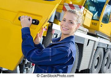 heavy vehicle operator