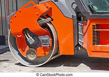 Heavy Vibration roller compactor for road repairing