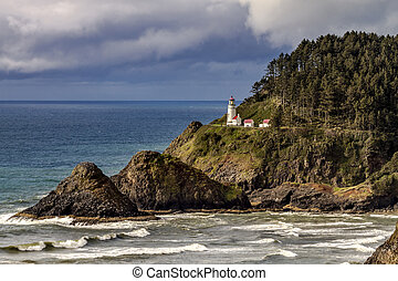 Heceta Head Historic Oregon Lighthouse