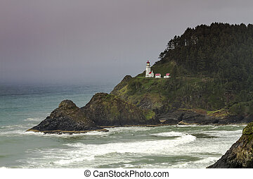 Heceta Head Historic Oregon Lighthouse