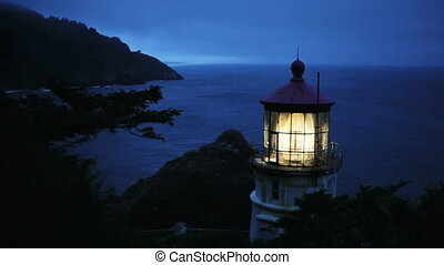 Heceta Head Lighthouse Night