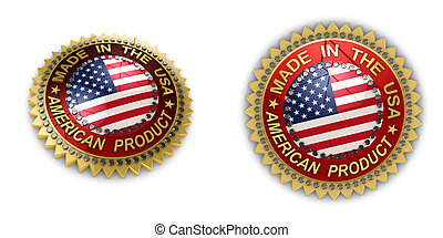 hecho, estados unidos de américa, sello