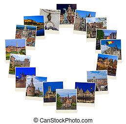 hecho, (my, marco, photos), bélgica, imágenes, viaje