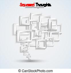 hecho, tridimensional, empresa / negocio, resumen, brochures...