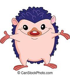 Hedgehog - Cute hedgehog