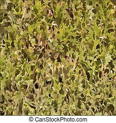 Hedgerow vector texture