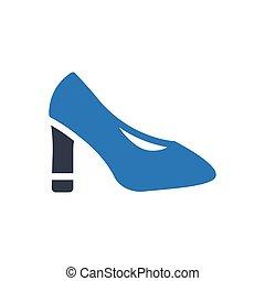 heel  glyph color icon