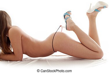 heels - classical female nudity picture