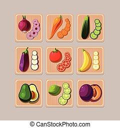 heerlijk, groentes