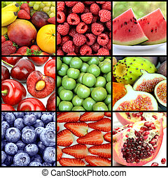 heerlijk, vruchten